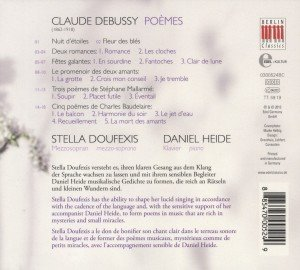 Debussy:Poemes-Lieder