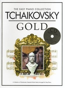 THE EASY PIANO COLLECTION TCHAIKOVSKY GOLD EASY PIANO BOOK/CD