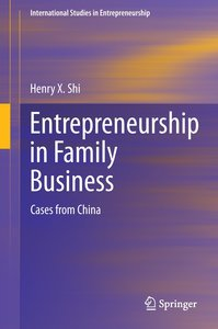 Entrepreneurship in Family Business