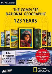 The Complete National Geographic 123 Years (8 DVD-ROM)