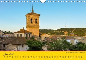 Spain / UK-Version (Wall Calendar 2015 DIN A4 Landscape)