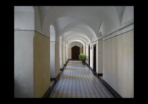 Im Kloster Habsthal (Posterbuch DIN A4 quer)