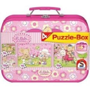 Schmidt Spiele 55598 - Lillebi: Puzzle-Box, 2 x 60/2 x 100 Teile