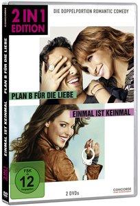 2 in 1 Edition: Plan B für die Liebe/Einmal (DVD)