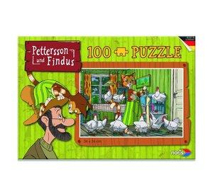 Pettersson Findus 100tlg. Puzzle Küche