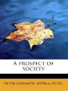 A prospect of society