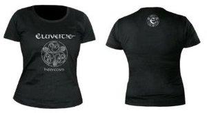 Helvetios T-Shirt M Girlie Black