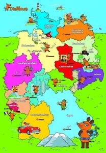 Die Maus, Reise durch Deutschland