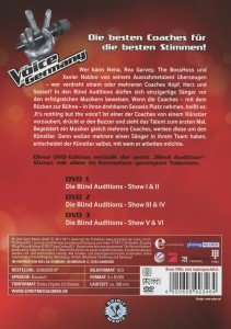 (2)Blind Auditions