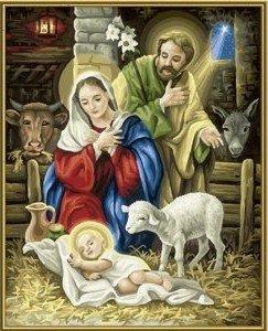Schipper 609130402 - Christi Geburt, MNZ, Malen nach Zahlen