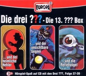 Die drei ??? Box 13. Folgen 37-39 (drei Fragezeichen). 3 CDs