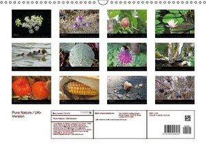 Pure Nature / UK-Version (Wall Calendar 2016 DIN A3 Landscape)