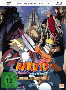 Naruto - The Movie 2 - Die Legende des Steins von Gelel. Limited