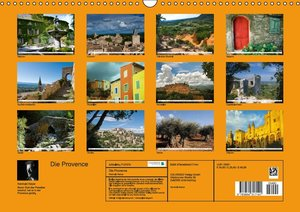Die Provence (Wandkalender 2016 DIN A3 quer)