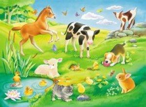 Ravensburger 05407 - My First Puzzles: Süße Tierkinder, Puzzle,