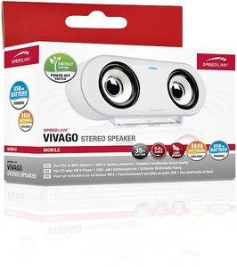 VIVAGO Stereo Speaker, white
