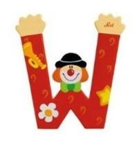 Sevi 81759 - Buchstabe: Clown W - zum Schließen ins Bild klicken