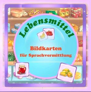 Bildkarten für Sprachvermittlung: Lebensmittel