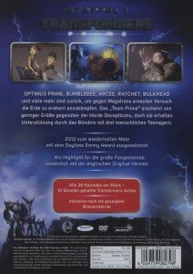 Transformers Prime - Platin Edition. 1. Staffel