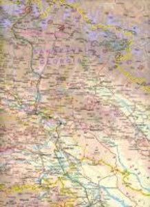 Caucasus Region Travel Map 1 : 650 000
