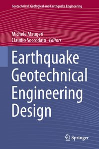 Earthquake Geotechnical Engineering Design