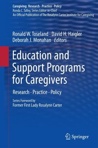 Education and Support Programs for Caregivers