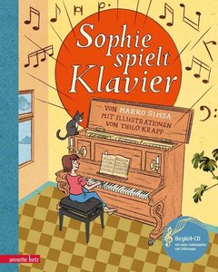 Sophie spielt Klavier