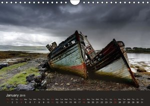 wrecks 2015 / UK-Version (Wall Calendar 2015 DIN A4 Landscape)