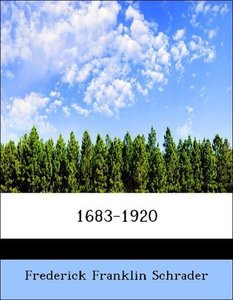 1683-1920