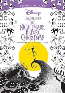 Art of Coloring: Tim Burton\'s The Nightmare Before Christmas