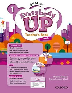Everybody Up 1. Teacher\'s Book Pack with DVD, Online Practice a