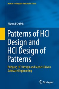 Patterns of HCI Design and HCI Design of Patterns