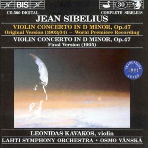 Violinkonzert d-moll - zum Schließen ins Bild klicken