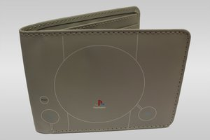 PlayStation Konsole - Geldbörse, grau (Offiziell lizensiert)
