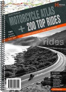 Australia Motorcycle Atlas + 200 Top Rides