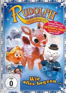 Rudolph mit der roten Nase. Wie alles begann