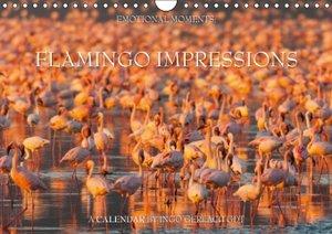 Flamingo Impressions UK-Version (Wall Calendar 2015 DIN A4 Lands