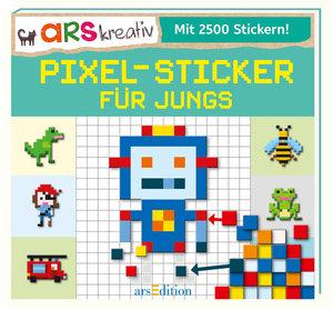 Pixel-Sticker für Jungs