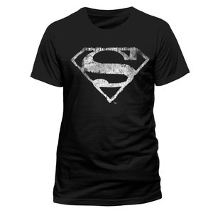 Logo Mono Distressed (T-Shirt,Schwarz,GR M)
