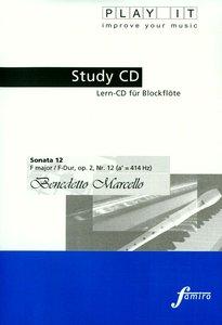 Study-CD Recorder - Sonata 12,F-Dur,op.2,Nr. 12