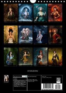 STAR-BORN (Wall Calendar 2015 DIN A4 Portrait)