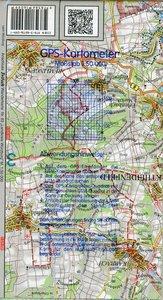 Naturpark Spessart Blatt Süd 1 : 50 000. Fritsch Wanderkarte
