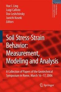 Geomechanics: Laboratory Testing, Modeling and Applications