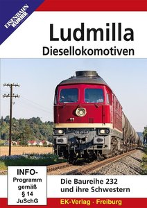 Ludmilla-Diesellokomotiven, 1 DVD-Video