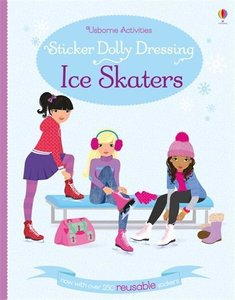 Sticker Dolly Dressing: Ice Skaters