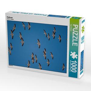 Pelikane 1000 Teile Puzzle quer
