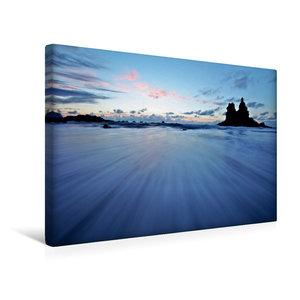 Premium Textil-Leinwand 45 cm x 30 cm quer Playa de Benijo