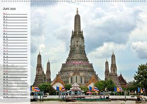 Mein Thailand - Geburtstagskalender (Wandkalender 2020 DIN A2 qu