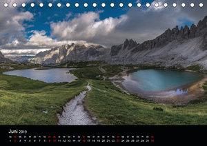 Von Venetien nach Südtirol (Tischkalender 2019 DIN A5 quer)