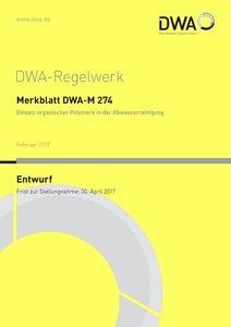 Merkblatt DWA-M 274 Einsatz organischer Polymere in der Abwasser